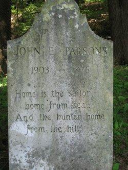 John E Parsons