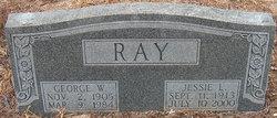 Jessie Lee <i>Shafer</i> Ray