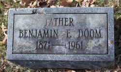 Benjamin F Doom