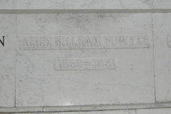 Alice Edna <i>Gillham</i> Bowyer