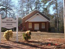 Beulah Primitive Baptist Church Cemetery New