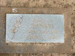 Edna Elizabeth <i>Jones</i> Bevens