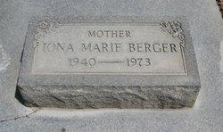 Iona Marie <i>Scroggins</i> Berger