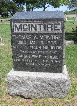 Pvt Thomas A. McIntire