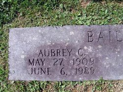 Aubrey Crockett Bailey