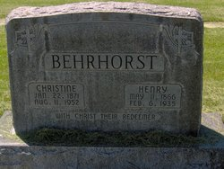 Henry Behrhorst