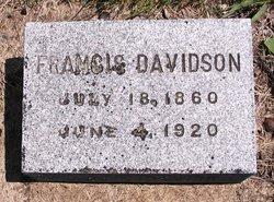Francis Marion Davidson