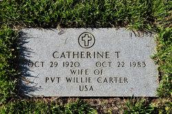 Catherine T Carter