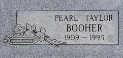 Pearl Edna <i>Taylor</i> Booher