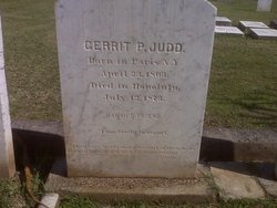 Dr Gerrit Parmele Judd