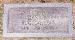 Catherine Elizabeth <i>Bishop</i> Baskin