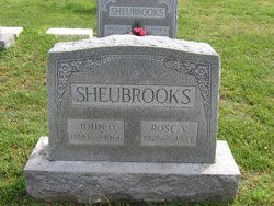 Rose Virginia <i>Sparks</i> Sheubrooks