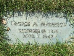 George Angus Matheson