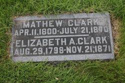 Elizabeth A. <i>McFeaters</i> Clark