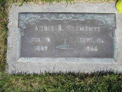 Aubie B. Clements