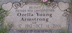 Ozell <i>Young</i> Armstrong