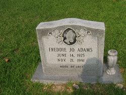 Freddie Jo <i>Hubert</i> Adams