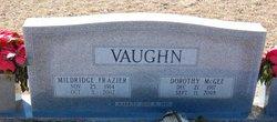 Dorothy Dot <i>McGee</i> Vaughn
