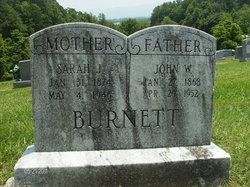 Sarah Josephine <i>Johnson</i> Burnett
