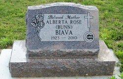 Alberta Rose <i>Bunn</i> Biava