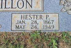 Hester <i>Patterson</i> Bouchillon