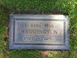 Lorena Mae <i>Harper</i> Harrington
