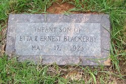 Infant Son Blackerby