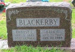 Henrietta Etta <i>Clement</i> Blackerby