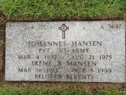 Irene Bernice <i>Jackson</i> Hansen