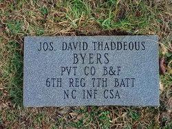 Joseph David <i>Thaddeous</i> Byers