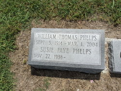 William Thomas Willie Phelps