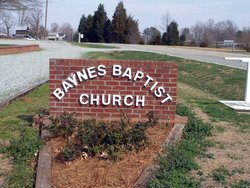 Baynes Baptist Church Cemetery