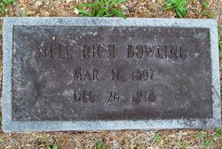 Nellie Alma Nell <i>Rich</i> Bowling