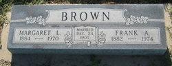 Margaret <i>Liston</i> Brown