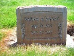 Sarah Amelia <i>Stone</i> Knapp