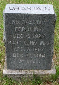 Mary E <i>Bridges</i> Chastain