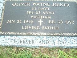 Oliver Wayne Joiner