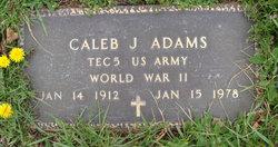 Caleb J. Adams