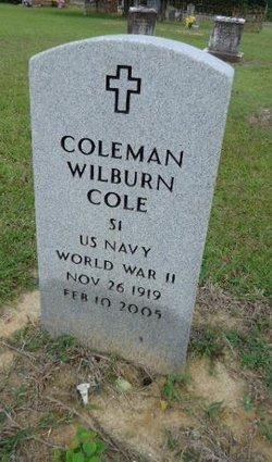 Coleman Wilburn Cole