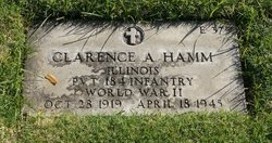 Clarence A Hamm