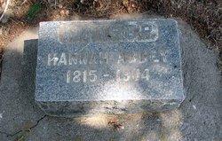 Hannah Brownson Abbey