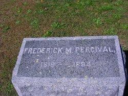 Capt Frederick M Percival