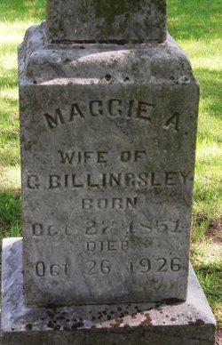 Margaret Ann Maggie <i>Gooding</i> Billingsley