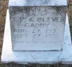 Julian P. Gaddy, Jr