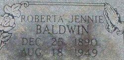 Roberta Jennie Baldwin