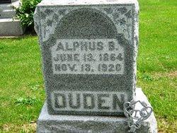 Alpheus B Duden