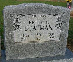 Betty Boatman