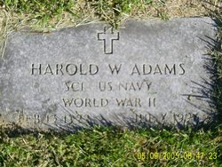 Harold Wilson Adams