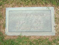 Jeanette B. <i>Lockhart</i> Burbridge