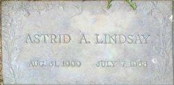 Astrid <i>Winther</i> Lindsay